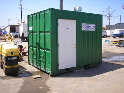 Storage container rentals on California's North Coast