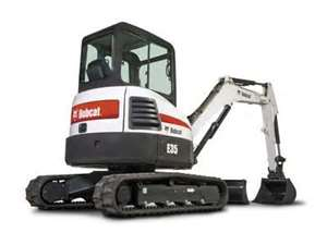 Where to find BOBCAT E35 MINI EXCAVATOR in Eureka