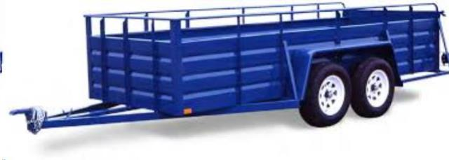 Where to find 5  X 12  UTILITY TRAILER in Eureka