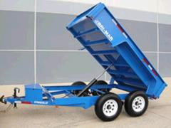 Rental store for 5  X 10  DUMP TRAILER DBL AXLE in Eureka CA