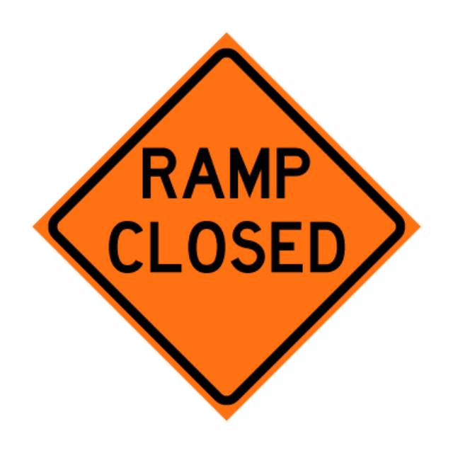 Where to find RAMP CLOSED REFLECTIVE in Eureka