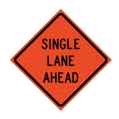Rental store for SINGLE LANE AHEAD REFLECTIVE in Eureka CA