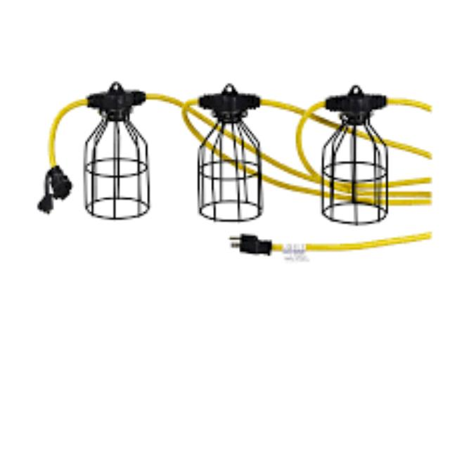 Where to find 100 X10 X 100W LIGHT CORD in Eureka