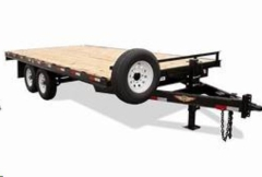 Rental store for 20  BLACK FLAT BED TRAILER in Eureka CA