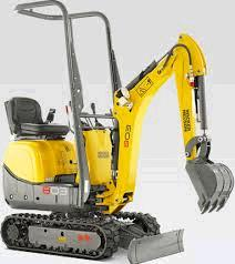 Where to find WACKER 803 MINI EXCAVATOR in Eureka