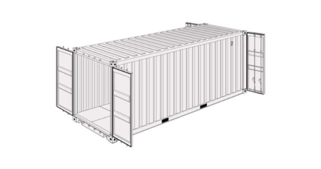 Where to find 20  DOUBLE DOOR CONTAINER in Eureka