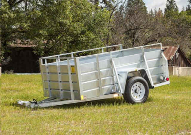 Where to find 5 X8  GALV UTILITY TRAILER in Eureka