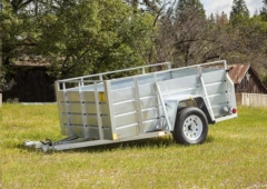 Rental store for 5  X 8  GALVANIZED UTILITY TRAILER in Eureka CA