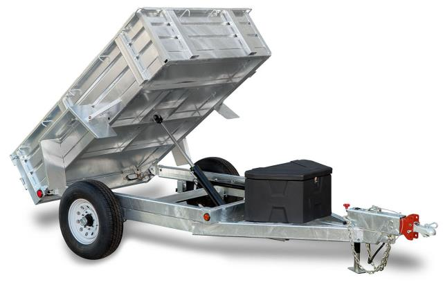 Where to find 5X8 SINGLE AXLE DUMP TRAILER in Eureka