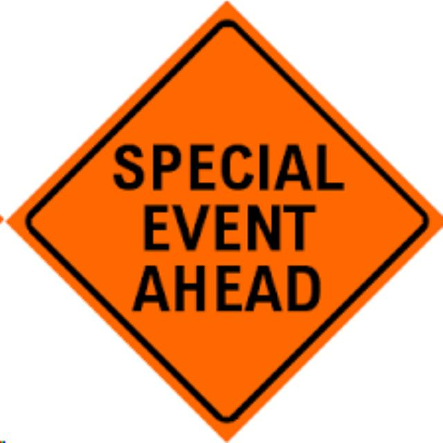 Where to find SPECIAL EVENT AHEAD REFLECTIVE in Eureka