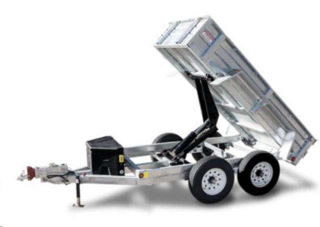 Where to find 5  X 10  GALVANIZED DUMP TRAILER 2AX in Eureka