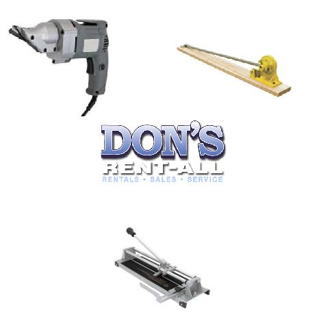 Rent Cutters & Benders