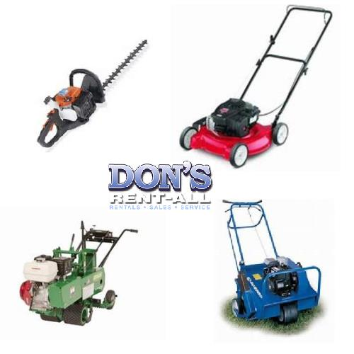 Rent Garden Power Equipment