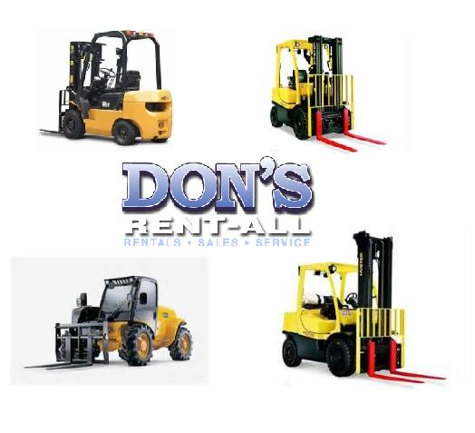 Rent Fork Lifts