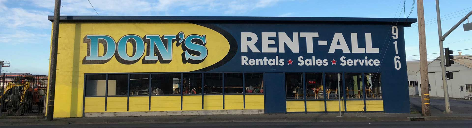 Equipment Rentals along the North Coast
